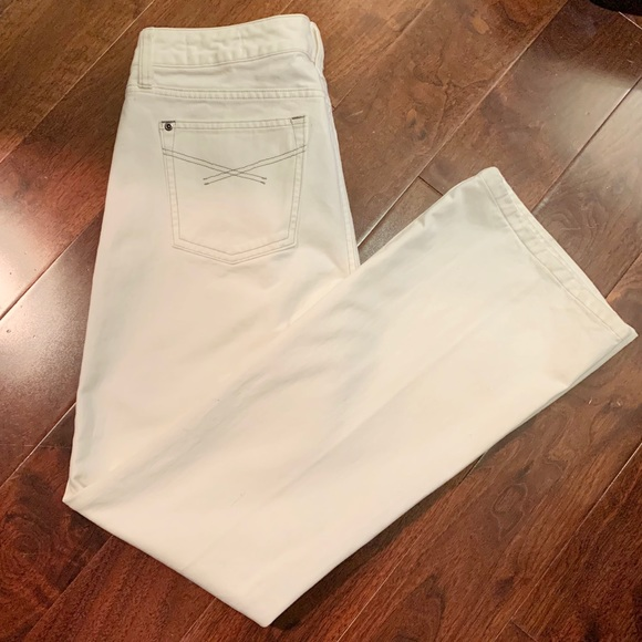 GAP White Wide Leg Limited Edition Jeans